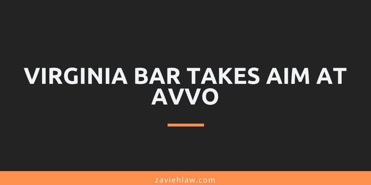 Virginia Bar takes aim at Avvo