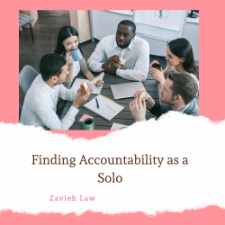 Finding Accountability as a Solo Lawyer